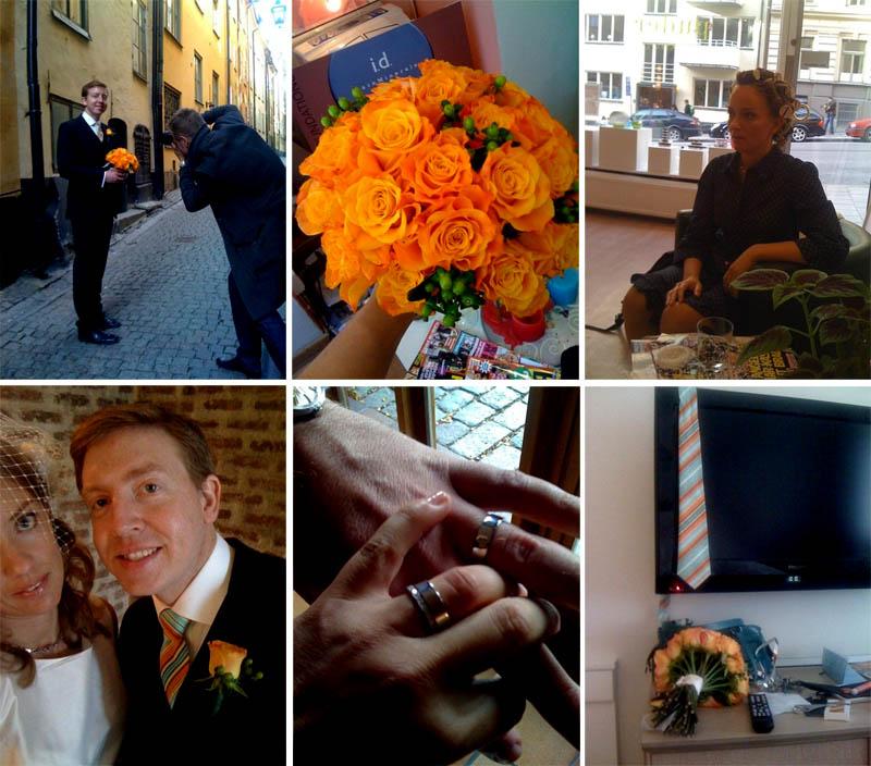 Bröllopsdagen
